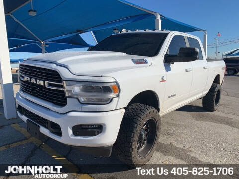 2019 RAM Ram Pickup 2500 for sale at JOHN HOLT AUTO GROUP, INC. in Chickasha OK