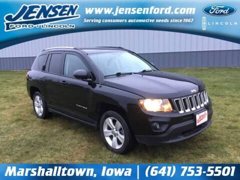 2016 Jeep Compass for sale at JENSEN FORD LINCOLN MERCURY in Marshalltown IA