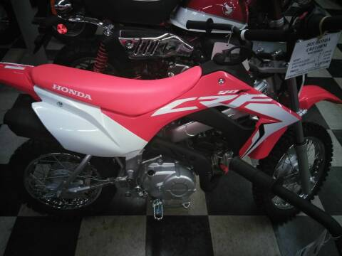 2021 Honda CRF110FM for sale at Irv Thomas Honda Suzuki Polaris in Corpus Christi TX