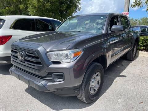 2018 Toyota Tacoma for sale at DORAL HYUNDAI in Doral FL