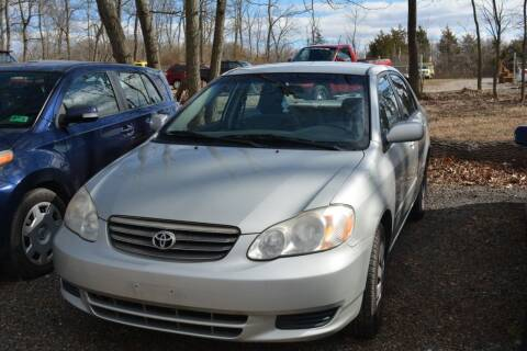2004 Toyota Corolla for sale at Noble PreOwned Auto Sales in Martinsburg WV