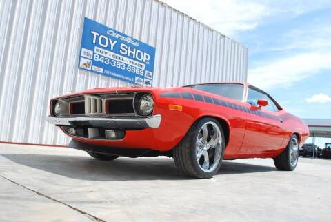 1972 Plymouth Barracuda for sale at CAROLINA TOY SHOP LLC in Hartsville SC