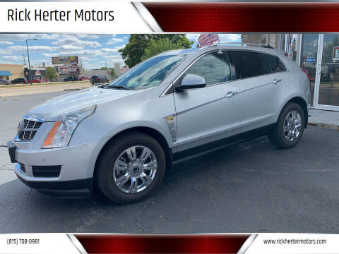 2011 Cadillac SRX for sale at Rick Herter Motors in Loves Park IL