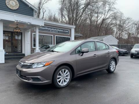 2012 Honda Civic for sale at Ocean State Auto Sales in Johnston RI