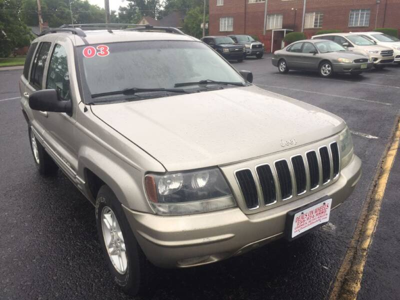 2004 Jeep Grand Cherokee for sale at DEALS ON WHEELS in Moulton AL