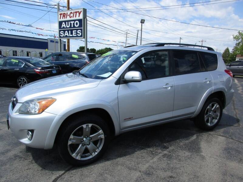 2011 Toyota RAV4 for sale at TRI CITY AUTO SALES LLC in Menasha WI