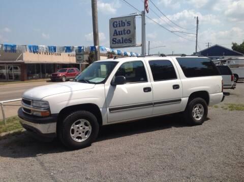2006 Chevrolet Suburban for sale at GIB'S AUTO SALES in Tahlequah OK