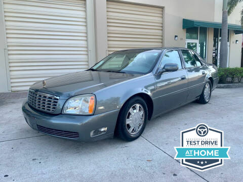 2003 Cadillac DeVille for sale at AUTOSPORT MOTORS in Lake Park FL