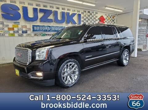 2016 GMC Yukon XL for sale at BROOKS BIDDLE AUTOMOTIVE in Bothell WA