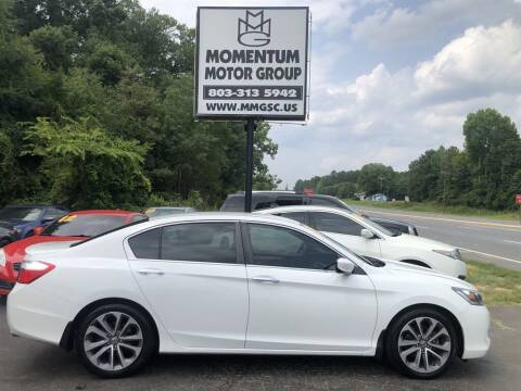 2014 Honda Accord for sale at Momentum Motor Group in Lancaster SC