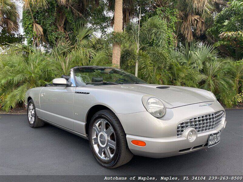 2004 Ford Thunderbird for sale at Autohaus of Naples in Naples FL