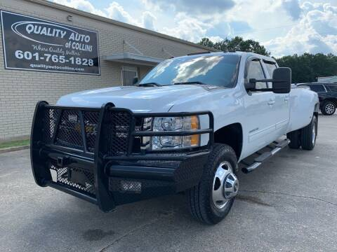 2014 Chevrolet Silverado 3500HD for sale at Quality Auto of Collins in Collins MS
