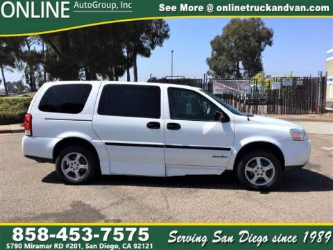 2007 Chevrolet Uplander for sale at Online Auto Group Inc in San Diego CA
