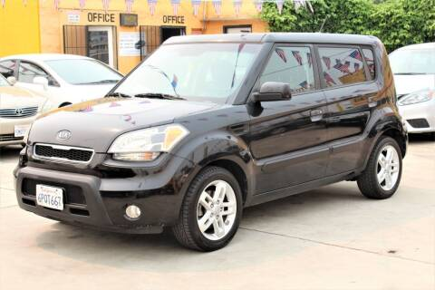 2010 Kia Soul for sale at FJ Auto Sales in North Hollywood CA