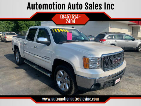 2012 GMC Sierra 1500 for sale at Automotion Auto Sales Inc in Kingston NY