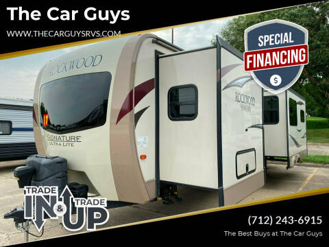 2017 Forest River Rockwood RLT 8328 for sale at The Car Guys RV & Auto in Atlantic IA