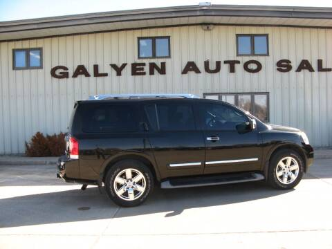 2010 Nissan Armada for sale at Galyen Auto Sales Inc. in Atkinson NE