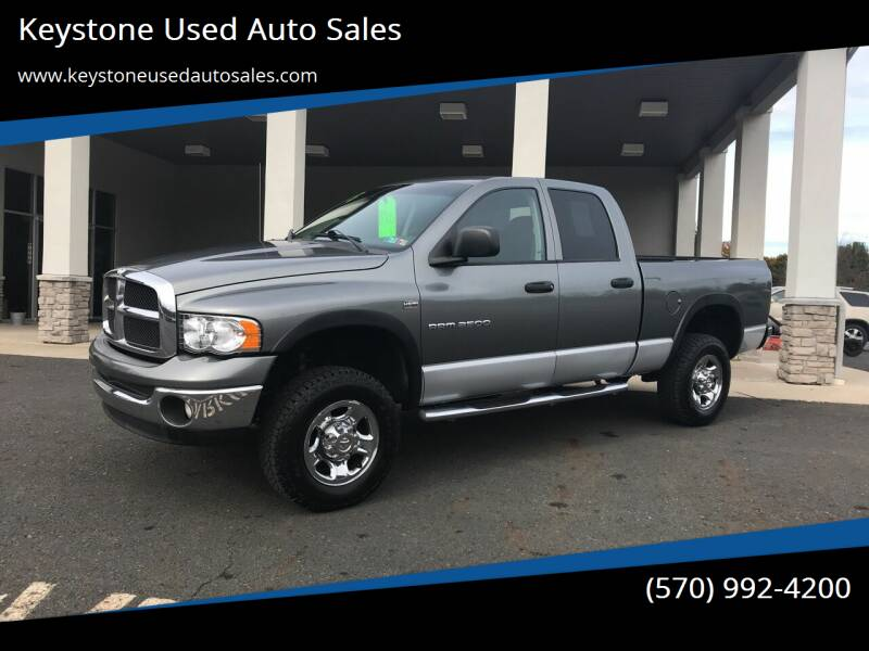 2005 Dodge Ram Pickup 2500 for sale at Keystone Used Auto Sales in Brodheadsville PA