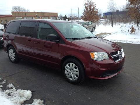 2017 Dodge Grand Caravan for sale at Bruns & Sons Auto in Plover WI