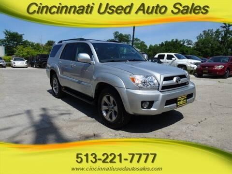 2007 Toyota 4Runner for sale at Cincinnati Used Auto Sales in Cincinnati OH