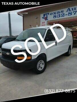 2009 Chevrolet Express Cargo for sale at TEXAS AUTOMOBILE in Houston TX
