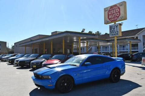 2010 Ford Mustang for sale at Houston Used Auto Sales in Houston TX