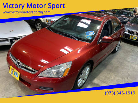 2007 Honda Accord for sale at Victory Motor Sport in Paterson NJ