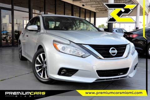 2017 Nissan Altima for sale at Premium Cars of Miami in Miami FL
