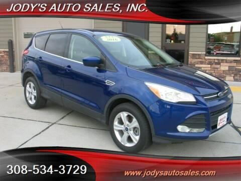 2016 Ford Escape for sale at Jody's Auto Sales in North Platte NE