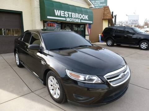 2011 Ford Taurus for sale at Westbrook Motors in Grand Rapids MI