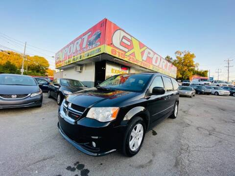 2013 Dodge Grand Caravan for sale at EXPORT AUTO SALES, INC. in Nashville TN