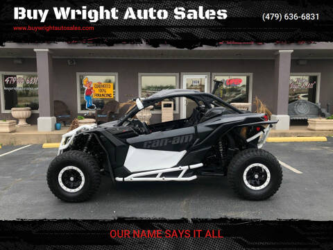 2017 Can-Am Maverick X3 DS Turbo R for sale at Buy Wright Auto Sales in Rogers AR