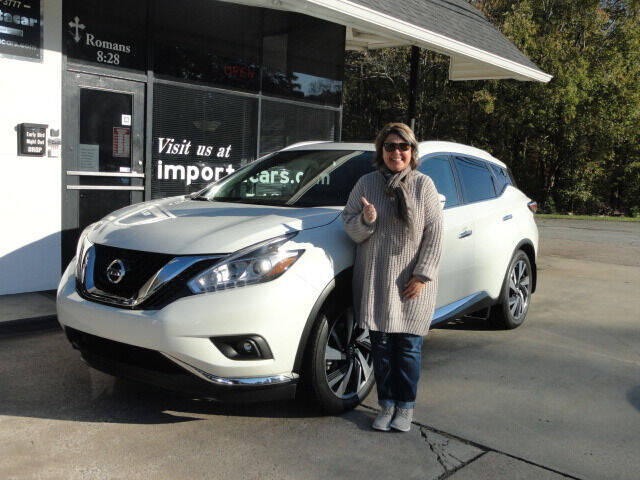 2018 Nissan Murano for sale at importacar in Madison NC