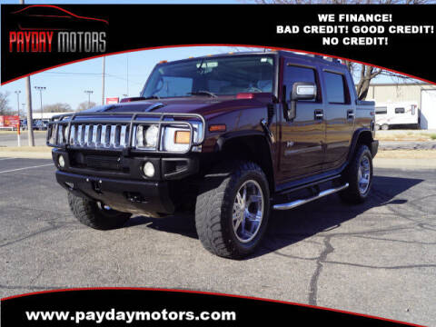 2006 HUMMER H2 SUT for sale at Payday Motors in Wichita And Topeka KS