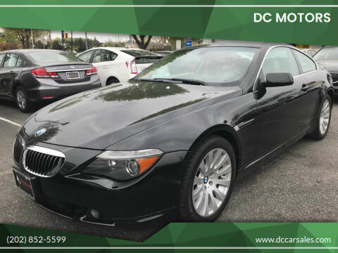 2004 BMW 6 Series for sale at DC Motors in Springfield VA