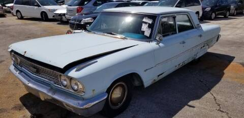 1963 Ford Galaxie for sale at KK Car Co Inc in Lake Worth FL