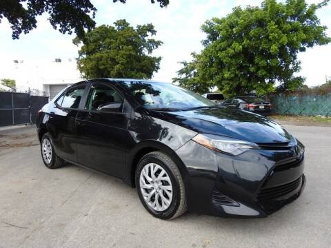 2019 Toyota Corolla for sale at SUPER DEAL MOTORS in Hollywood FL