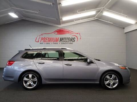 2012 Acura TSX Sport Wagon for sale at Premium Motors in Villa Park IL