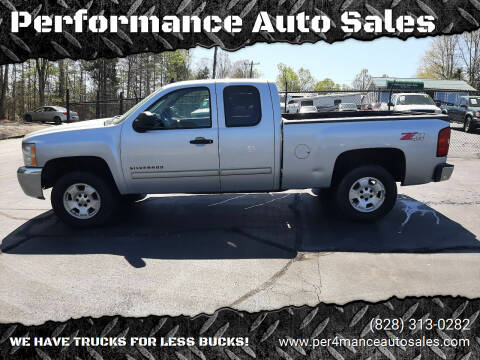 2012 Chevrolet Silverado 1500 for sale at Performance Auto Sales in Hickory NC