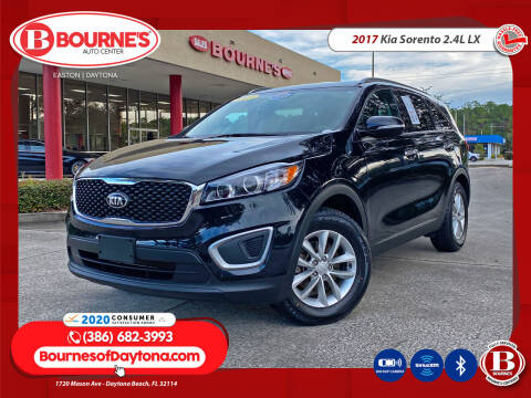 2017 Kia Sorento for sale at Bourne's Auto Center in Daytona Beach FL