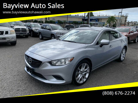 2017 Mazda MAZDA6 for sale at Bayview Auto Sales in Waipahu HI