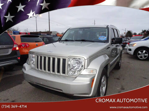 2009 Jeep Liberty for sale at Cromax Automotive in Ann Arbor MI