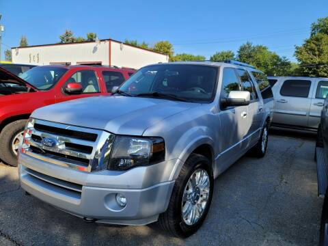 2013 Ford Expedition EL for sale at J & J Used Cars inc in Wayne MI