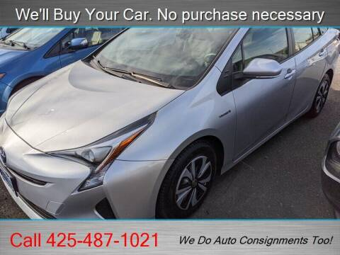 2016 Toyota Prius for sale at Platinum Autos in Woodinville WA