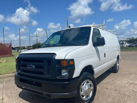 2012 Ford E-Series Cargo for sale at TWIN CITY MOTORS in Houston TX