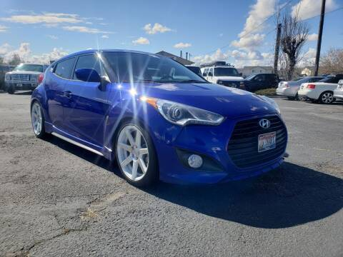 2014 Hyundai Veloster Turbo for sale at Silverline Auto Boise in Meridian ID