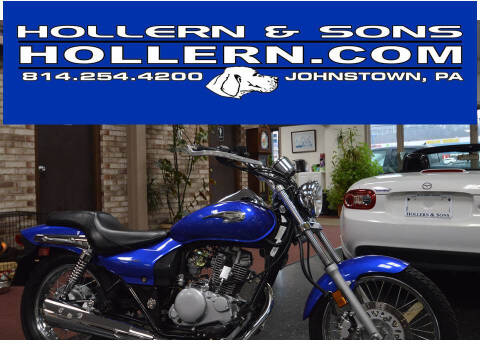 2006 Kawasaki ELIMINATOR for sale at Hollern & Sons Auto Sales in Johnstown PA