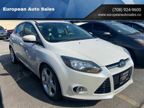2012 Ford Focus for sale at European Auto Sales in Bridgeview IL