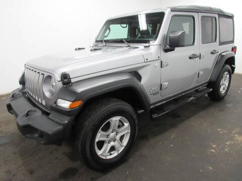2018 Jeep Wrangler Unlimited for sale at Automotive Connection in Fairfield OH