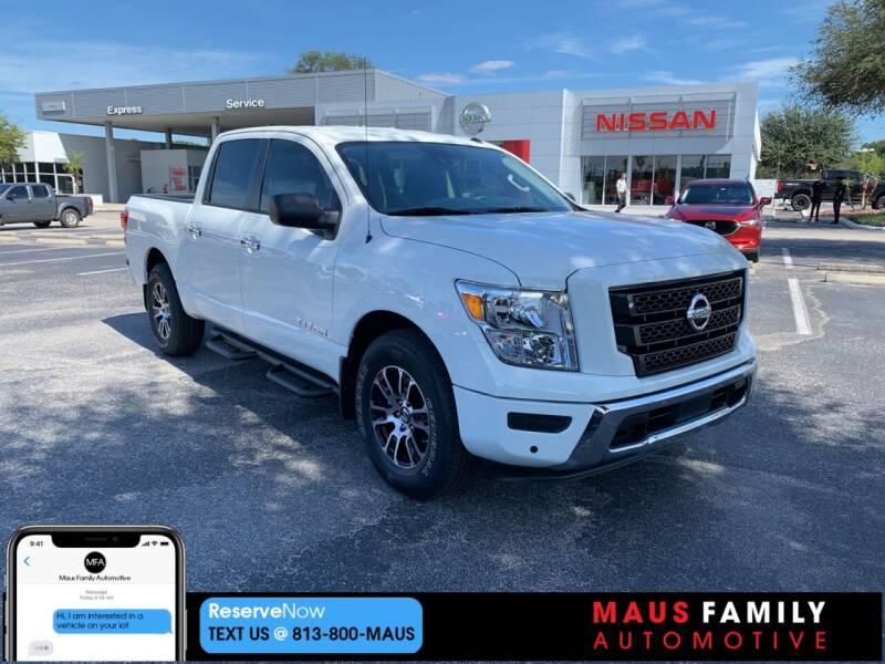 2021 Nissan Titan for sale in Tampa, FL